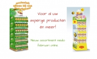 Knorr en Maggi asperge display