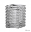 SQUARE RIBBED GLASS HELDER