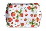 DIENBLADJE STRAWBERRIES ALL OVER WIT 13X21cm.