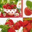 SERVET TASTE OF STRAWBERRY 33x33CM