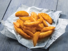 SEASONED WEDGES MET SCHIL W01