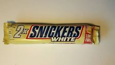 SNICKER WHITE 2-PACK